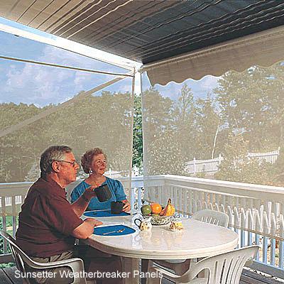 Weatherbreaker Panels by Sunsetter