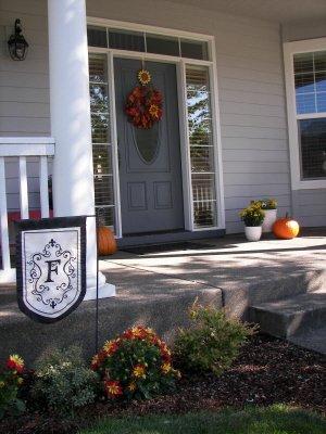 Welcome to my fall front door
