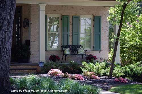 Winston salem nc front porch ideas front porch pictures for Landscaping rocks winston salem nc