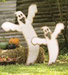yard ghosts for halloween
