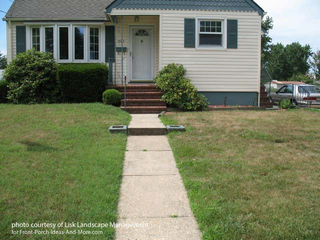 Front Yard Landscape Designs with Before and After Pictures