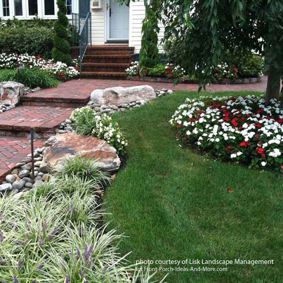 Concrete Front Yard Landscaping: Walkway Ideas To Create Exquisite Curb Appeal