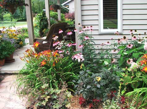 Zone 5 perennials perennial garden ideas front yard for Garden design zone 7