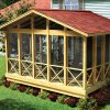 image of a diy screen porch kit