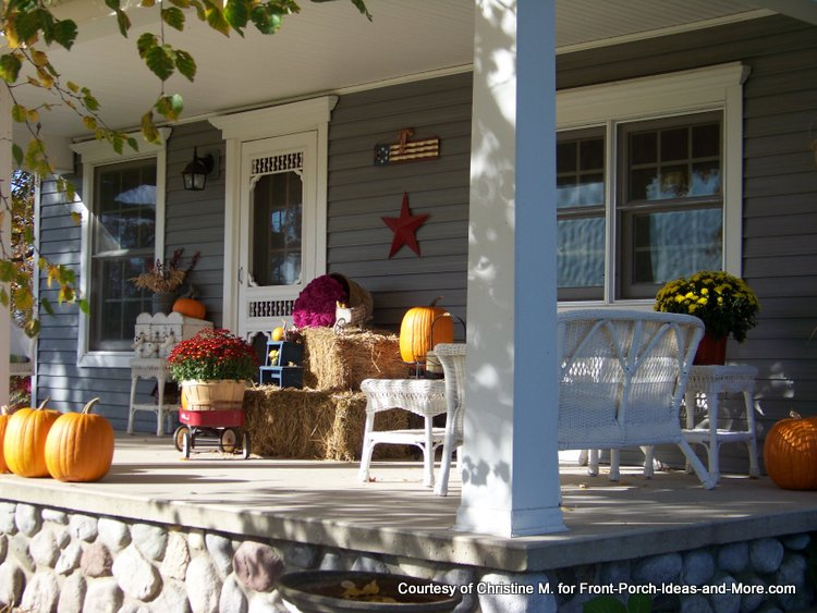 An Autumn Decorated Front Porch Part 69