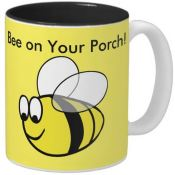 Cute bumblebee mug for porch lovers