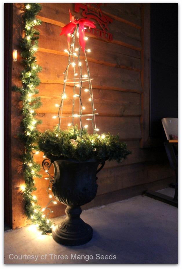 Christmas porch courtesy of Three Mango Seeds