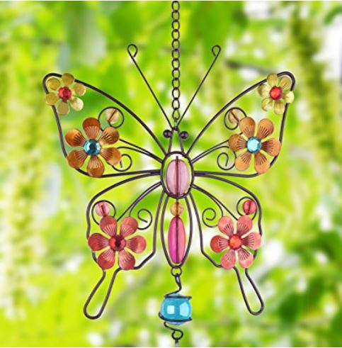 butterfly wind chime from amazon