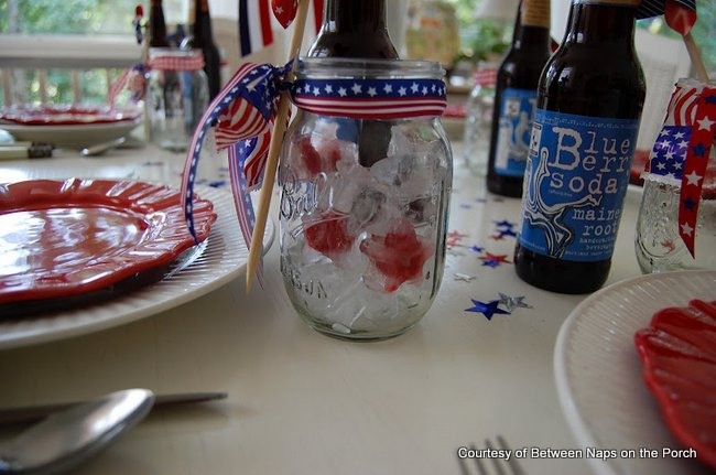 Using Ball canning jars as elegant stemware