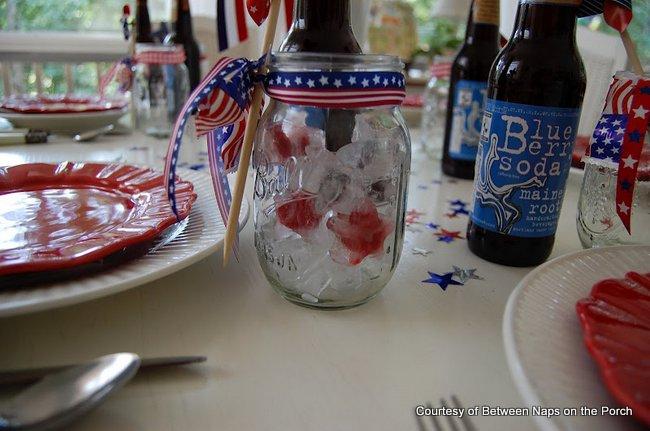 Using Ball canning jars as elegant stemware