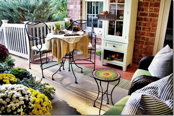 Back Porch Musings: Sweet Autumn Day