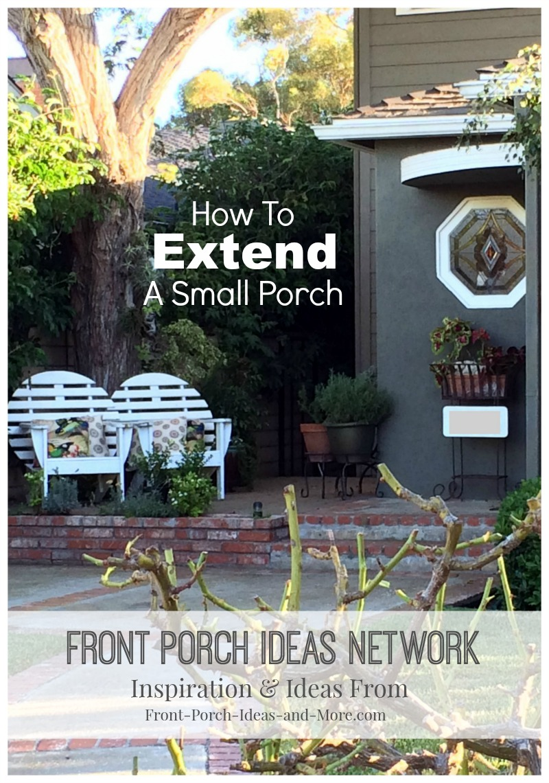Listen to our Podcast about extending your small porch or portico. Mary and Dave host the show and give several helpful options and ideas to you.