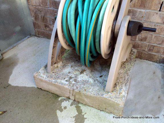 4 inch garden hose storage box holder