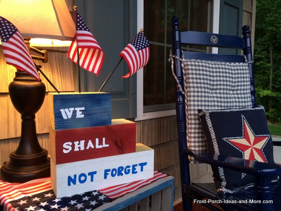 Our Memorial Day tribute project