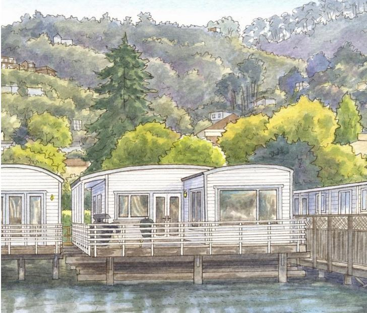 Capture a family vacation memory like this Sausalito CA vacation home - get more details on Front Porch Ideas and More