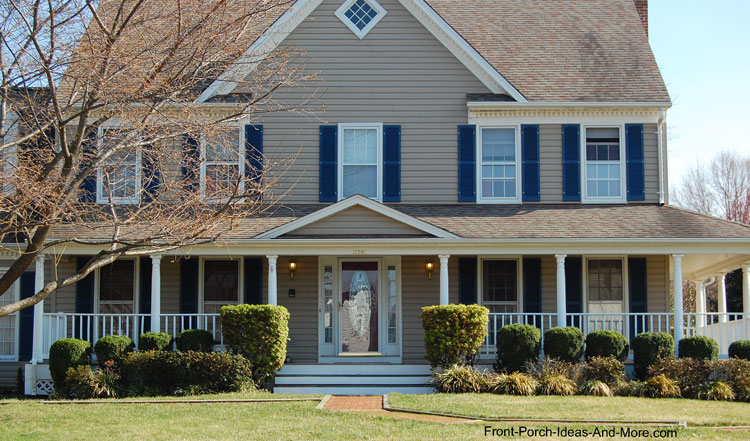 Country Home Designs | Country Porch Plans | Country Style Porches