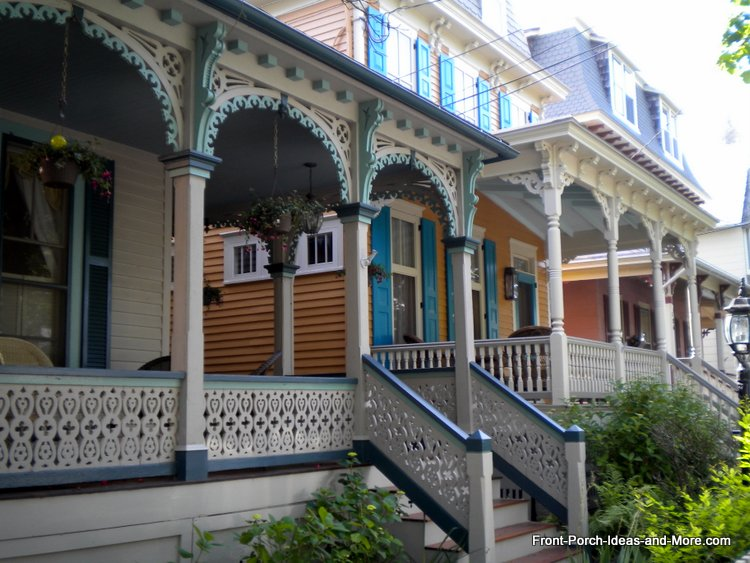 Victorian Home blue