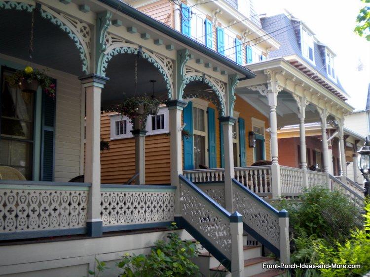 Victorian Home blue