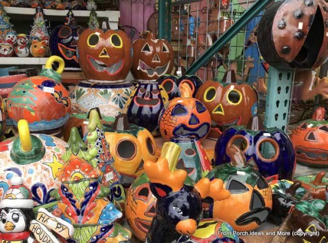 Yard Art Emporium - pumpkin yard art