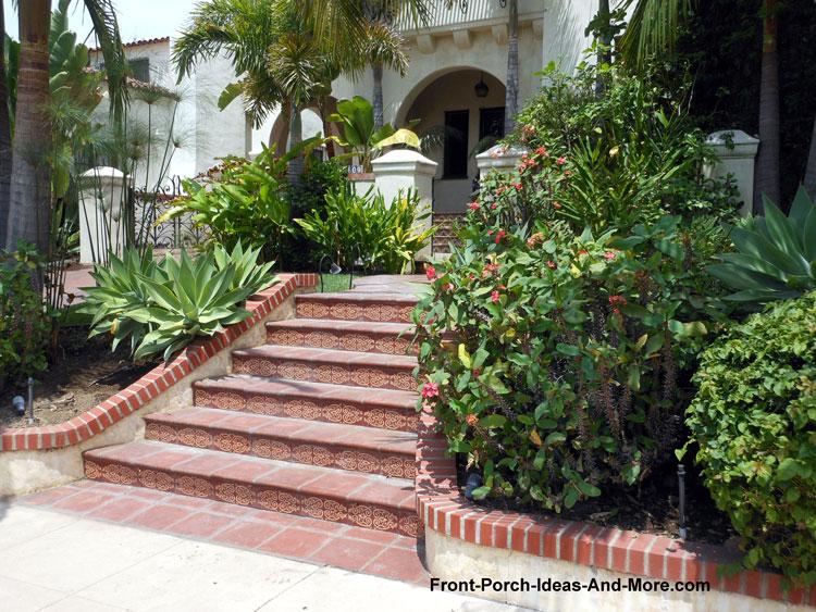 decorative Front Porch Steps