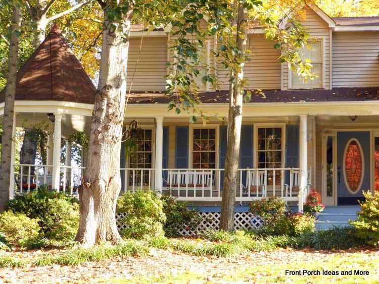 beautiful home with gazebo porch