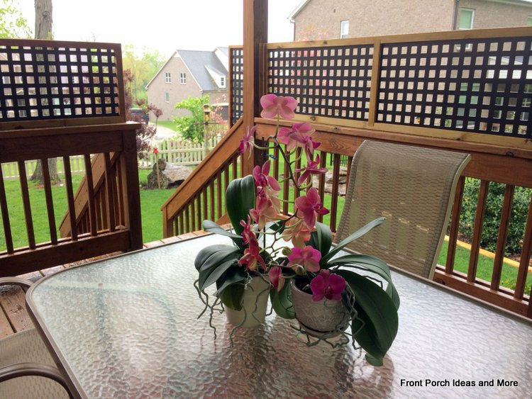 we will especially enjoy our privacy panels when dining on our back porch