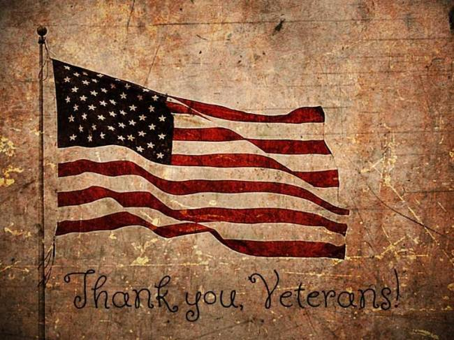 We thank our Veterans!