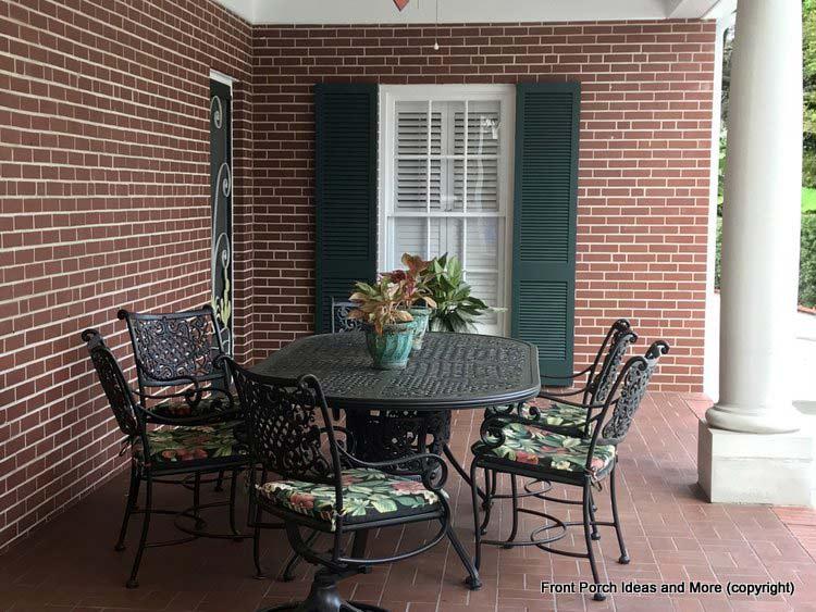 St Augustine Fl porch - dining area