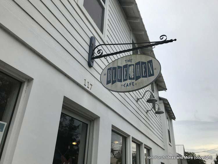 The Blue Hen restaurant in St Augustine Fl