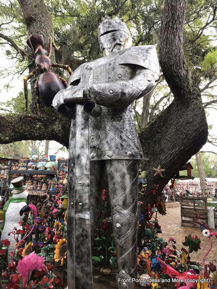 Yard Art Emporium - tall knight