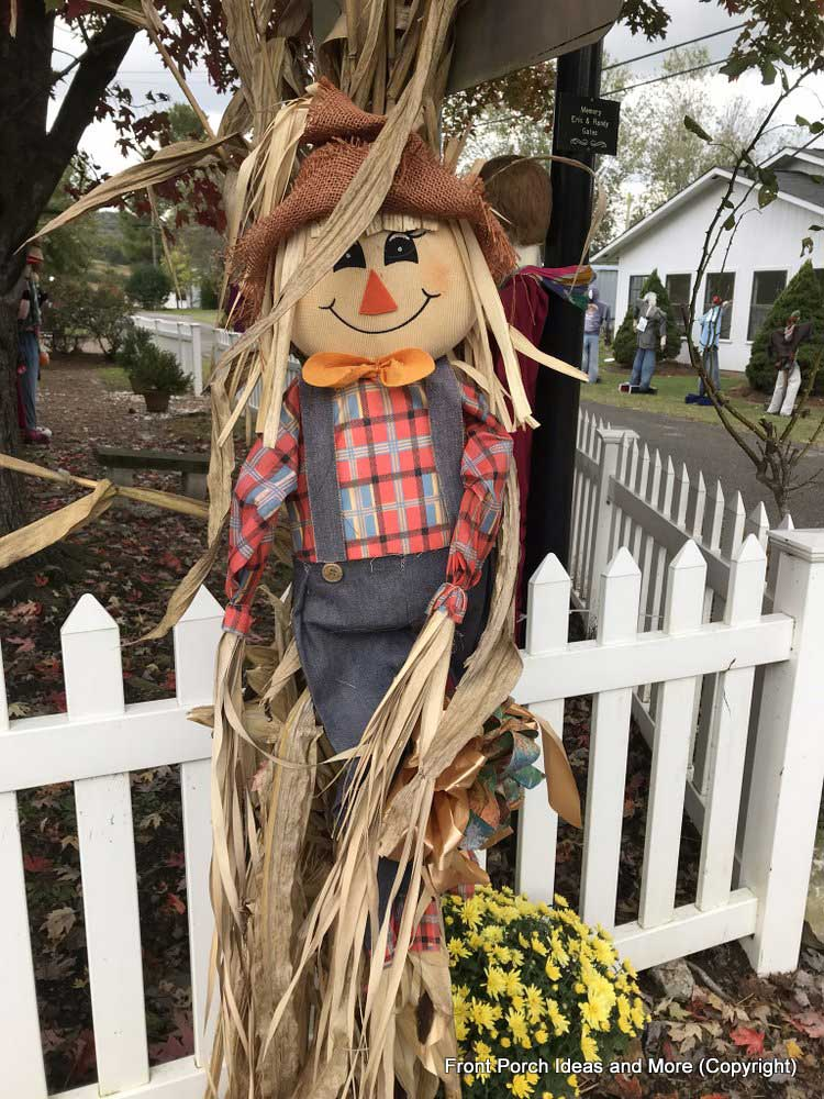 a classic scarecrow