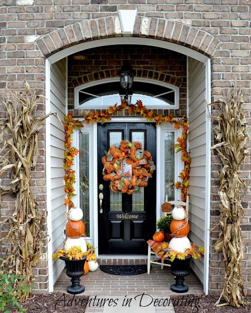 25 Bloggers Autumn Porches