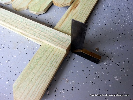 aligning top rails on end boards