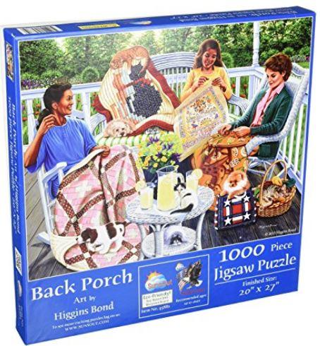 Back porch puzzle