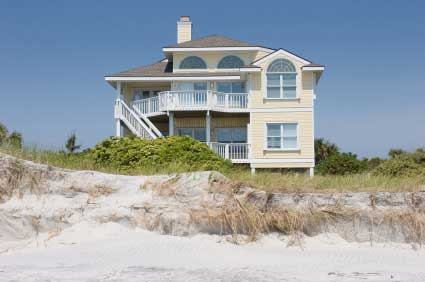 Beach house with great porches