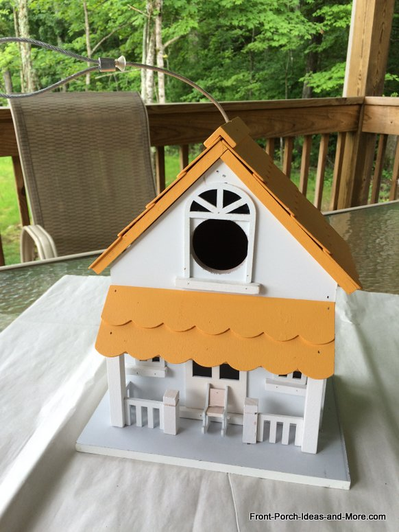 Birdhouse before it was painted