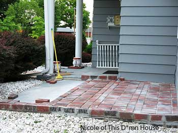 Brick Back Porch Deck Ideas Home Decorating Ideas