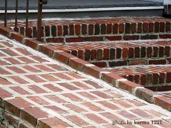 brick wheelchair ramp