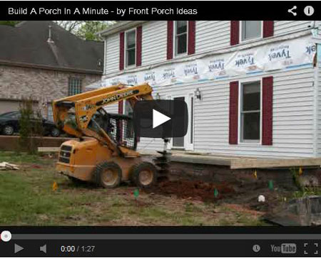 picture of a porch building video