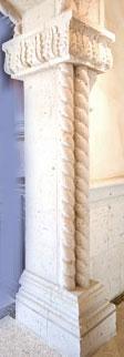 Cantera Stone Column