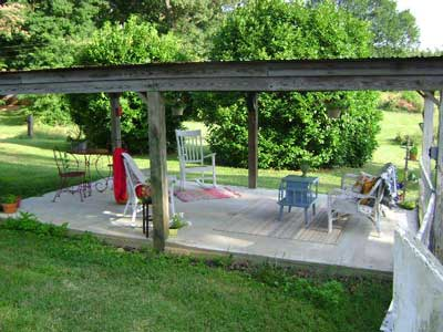 Car Porch Build A Porch Patio Ideas
