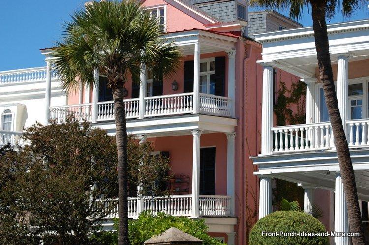 Charleston SC front porches