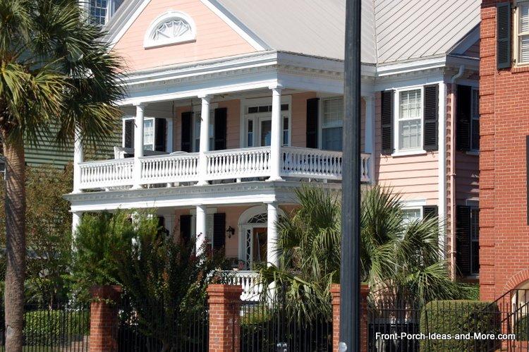 Charleston porches