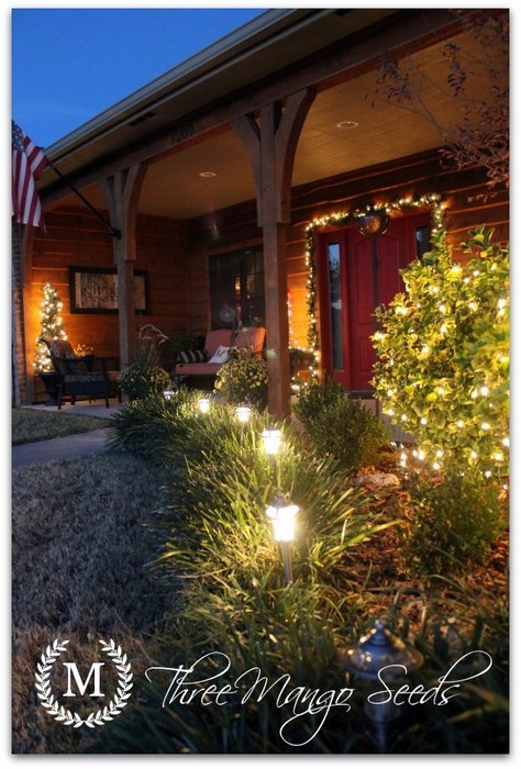 Christmas Outdoor Decorations - Outdoor Christmas Tree Made Of Lights