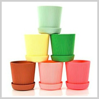 colorful pots for garden lovers