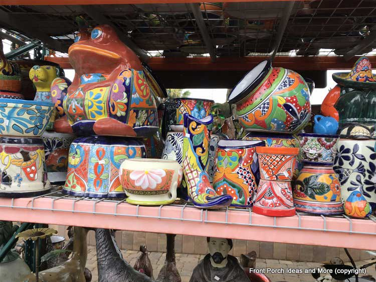 Yard Art Emporium - colorful pots