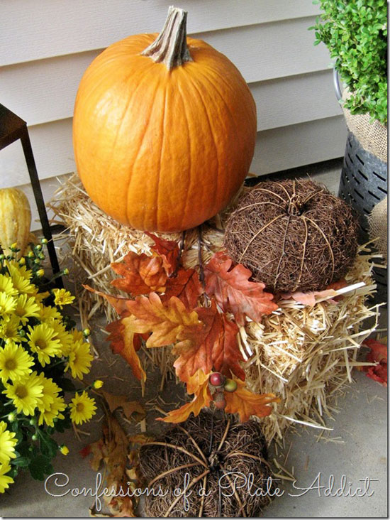 Confessions of a Plate Addict Fall Front Porch