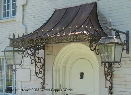 Old World Copper Works Awning