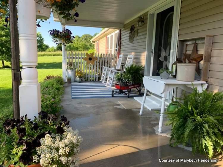 Mobile Home Porch Ideas
