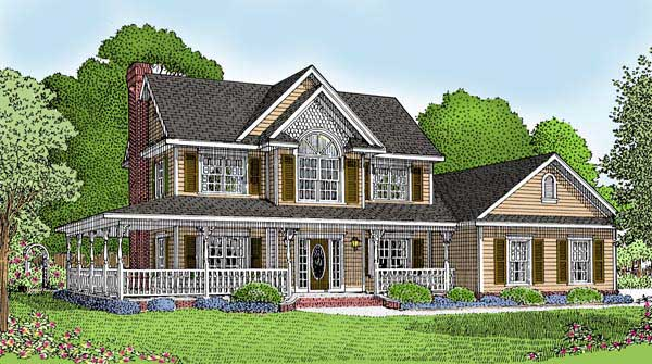 Home Ideas Country House Plans With Porches